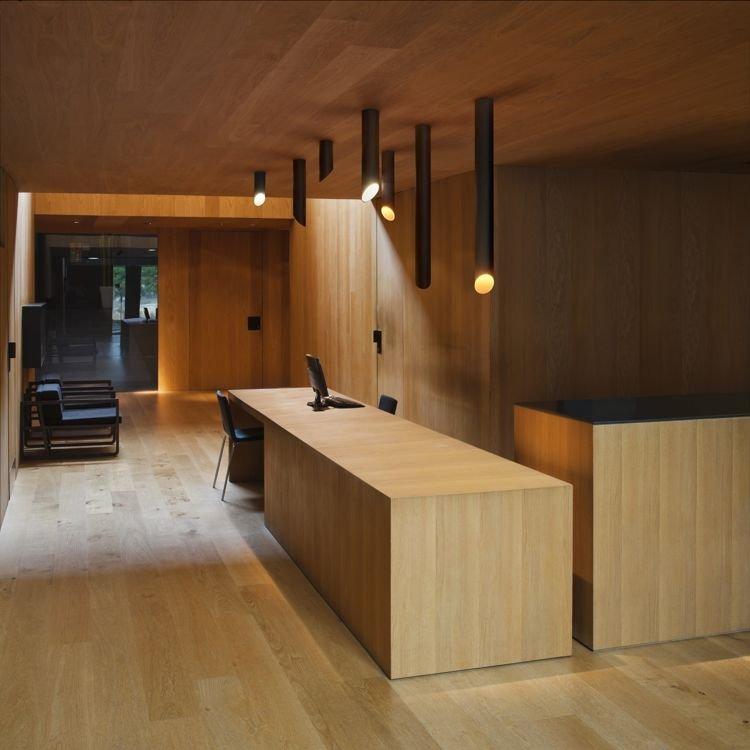 Lampa wewn trzna sufitowa vibia 45 8250 8251 8252 for Empresas de muebles de oficina